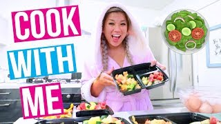 COOK & PACK WITH ME FOR VIDCON!!