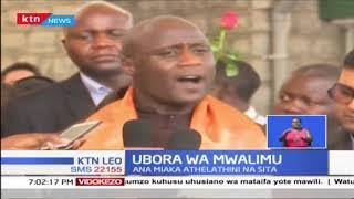 Mwalimu Peter Tabich awasili Kenya