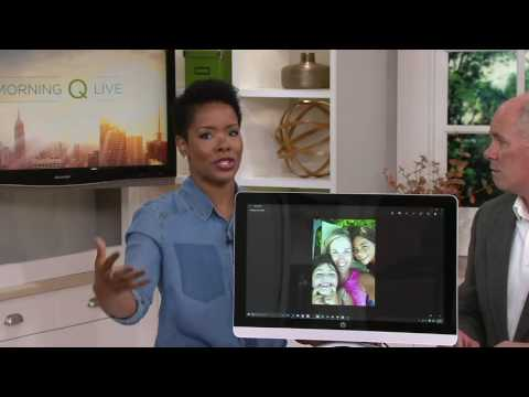 "HP 22"" Touch All-in-One PC 8GB RAM, 1TB HDD w/ Tech & Office Option on QVC"
