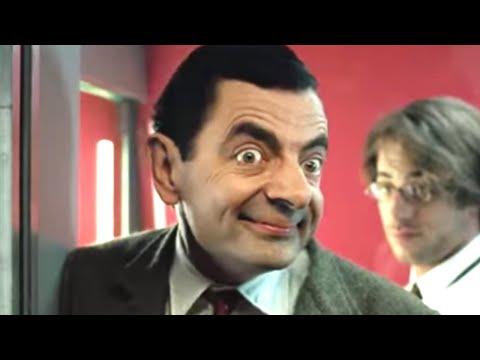 Trains and Cars | Funny Clips | Mr Bean Official