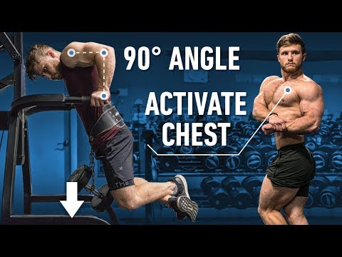 How To Do Dips For A Bigger Chest and Shoulders (Fix Mistakes!)