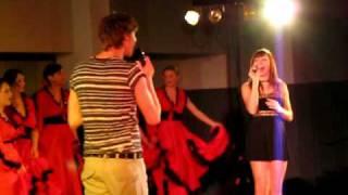 Kamila Nývltová a Vojta Dyk