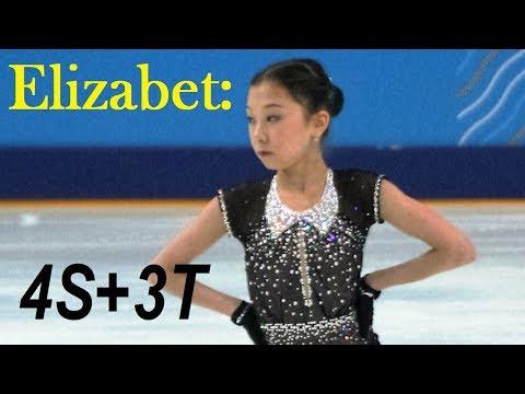 Elizabet TURSYNBAYEVA - 4S+3T, Practice