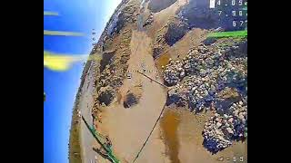 Rippin at a construction site. freestyle fpv drone.
