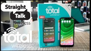MOTO G7 OPTIMO Unboxing and Mini Review For Total WirelessStraight talk