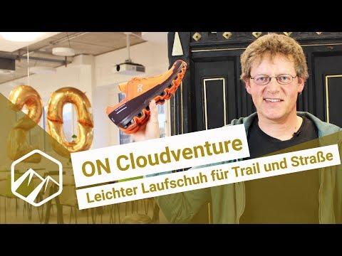 ON Cloudventure: Leichter Laufschuh für Trail und Straße   Bergzeit