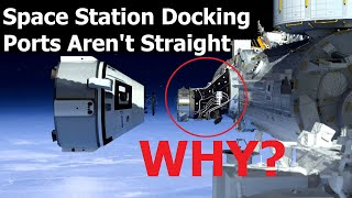 Why The Docking Adapters On The Space Station Are Shaped Oddly