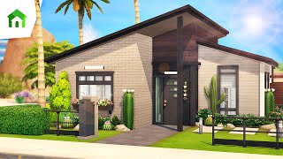 LUXURIOUS TINY HOUSE 🎍 | The Sims 4: Tiny Living | Speed Build