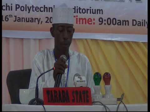 2015 Nigerian Musabaqa: Taraba Tangeem. Male Participant