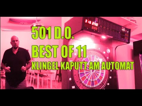 501 D.O.  Best of 11 gegen Bundesliga E-Darter