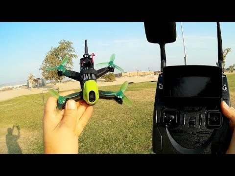 Hubsan H123D X4 Jet Brushless Micro FPV Drone Flight Test Review