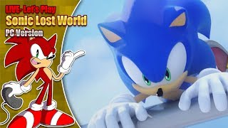 Let's play Sonic Lost World - LIVE - Saturday 16th February 7pm GMT 2019