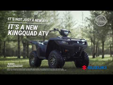 2019 Suzuki KingQuad 400ASi+ in Sanford, North Carolina - Video 1
