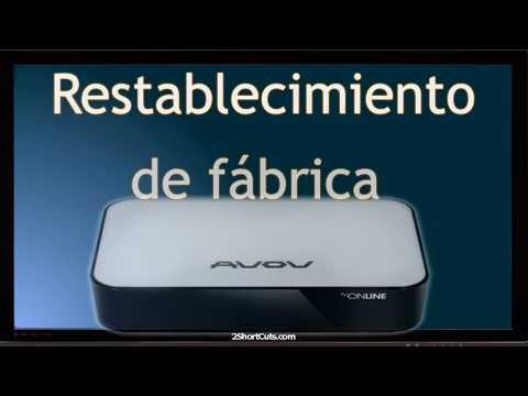 AVOV TVOnline N Factory Reset + Package Installer Stuck Fix