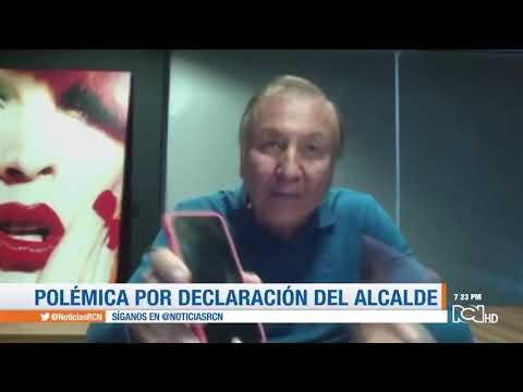 "Alcalde de Bucaramanga llama a los bomberos de la ciudad ""barrigones"""