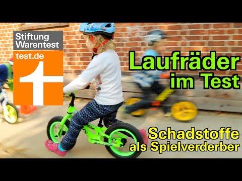 Test Laufräder für Kinder: Schadstoffe in vielen Kinderlaufrädern - auch in Puky