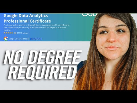 Google Data Analytics Professional Certificate Review | Become a DATA ANALYST with NO degree?!?