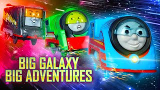 Space Chase! | Big Galaxy Big Adventures #2 | Thomas & Friends