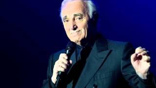 Charles Aznavour Ne t'en fais pas pour moi version inedit live