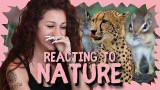 Danielle Bregoli reacts to Nature