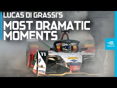 10 Dramatic Moments Which Have Defined Lucas di Grassi's Season | ABB FIA Formula E Championship
