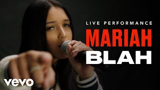 Blah (En Vivo) - Mariah  (Video)