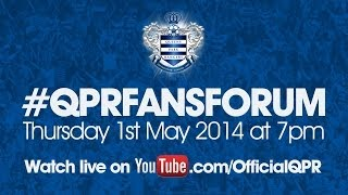 preview picture of video 'QPR FANS FORUM - 01/05/2014'