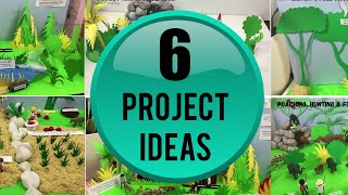 School Project Ideas   Environmental Protection And Awareness Models   Save Earth, Earth Day Project