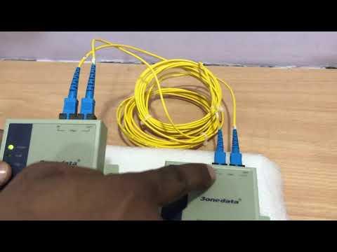 Model277(RS232/485/422 To Fiber Optic Converter)