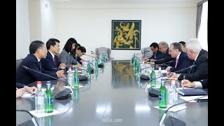 Foreign Minister Zohrab Mnatsakanyan received Li Hui, Special Envoy օf China in Eurasia Region
