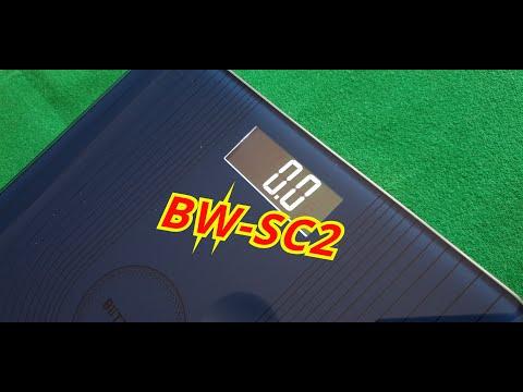 Електронна вага підлогова BlitzWolf BW-SC2/ Посилка з Banggood .