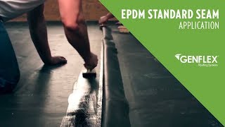 EPDM Standard Seam Application