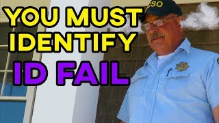 YOU MUST IDENTIFY - SHERIFF TRIGGERED - ID FAIL - First Amendment Audit with Amagansett Press