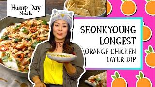 Orange Chicken Layer Dip l Hump Day Meals-Seonkyoung Longest