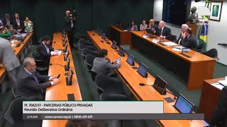Parcerias Público-Privadas - Discussão e votação do parecer do relator - None