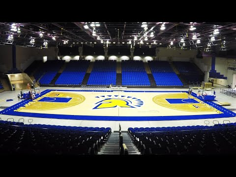 Basketball Court Installation   2019
