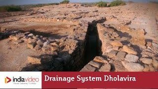 Drainage System in Dholavira, a harappan site