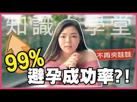 99%避孕成功率?保險套居然不是第一名
