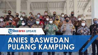 Gubernur DKI Jakarta Anies Baswedan Pulang Kampung, Sowan ke Pendopo Kuningan hingga Disambut Bupati