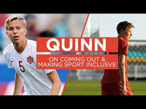 Are sports a safe place for trans people? Quinn speaks out