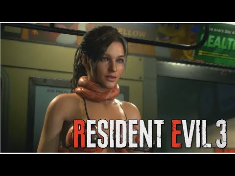 Download Resident Evil 2 Remake Claire Redfield Thicc Blue
