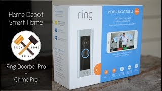 Ring Doorbell Pro + Chime Pro - Features and Install