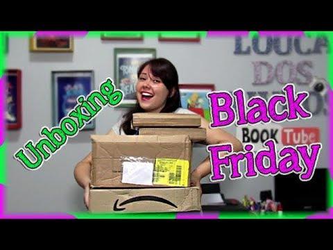UNBOXING BLACK FRIDAY | Stephen King, Fogo & Sangue, Darkside e mais! - Louca dos livros 2018