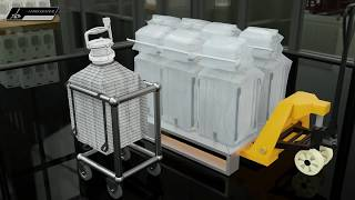 Poplet Image 1 for Single-use FIBC Containment System for Packaging Storage or Transfer