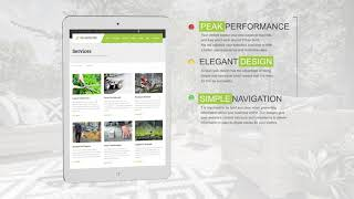 A Company Website For Lawn & Landscaping Businesses