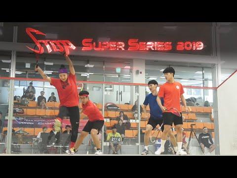 [매치업스쿼시] 양연수-홍의진 vs 이상진-권영준(S-Top Super Series 2019)