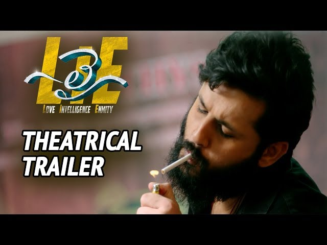 LIE Telugu Movie Theatrical Trailer | Nithiin, Arjun, Megha Akash
