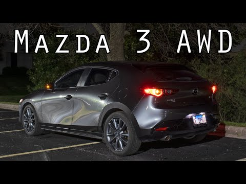 Night & Lighting Review! - 2019 Mazda 3 Hatchback AWD
