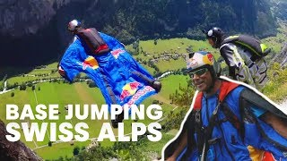 Swiss Alps BASE Jumping Part 1 | Miles Above 3.0