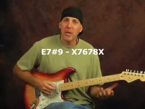 Beginner guitar lesson Strumming Pattern & Blues Rhythm